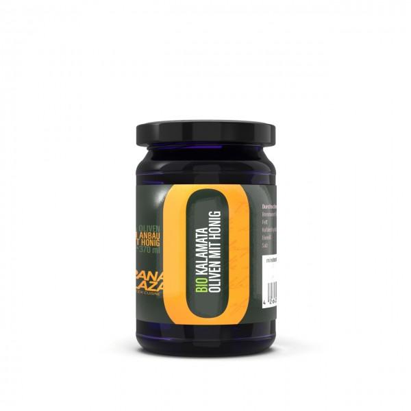 Kalamata Olive trifft auf das süße Aroma des Bio Honigs. Wow.