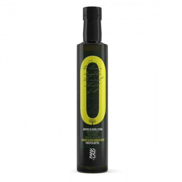 Olivenöl extra nativ aus unreifen Oliven Peloponnes